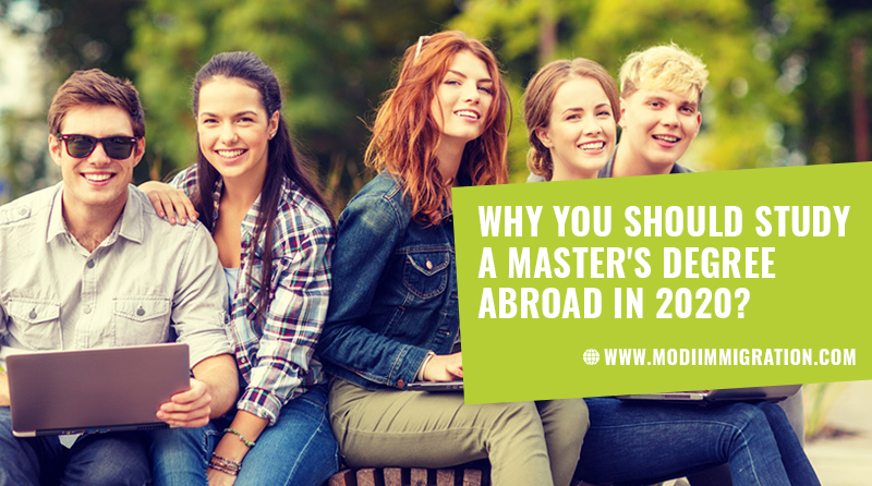 Why You Should Study a Master's Degree Abroad in 2020?