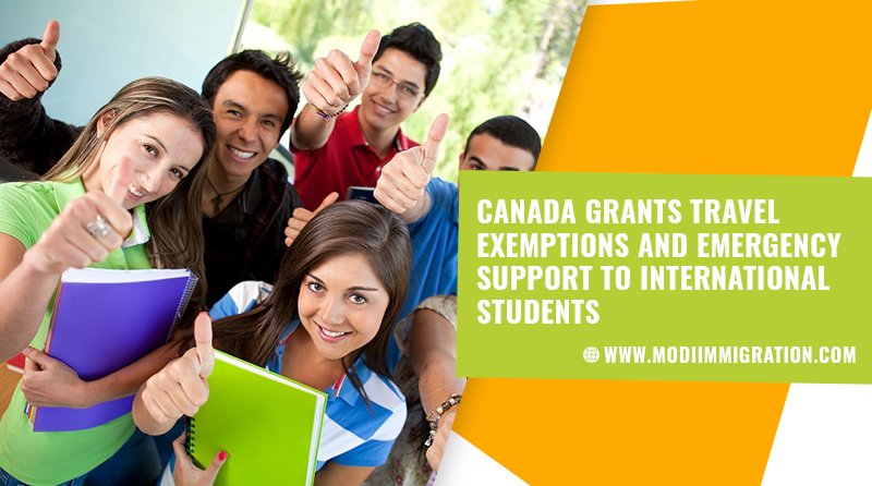 Canada Grants Travel Exemptions and Emergency Support to International Students